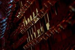 Mousserende wijn op rek 4 Royalty-vrije Stock Afbeelding