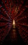 Mousserende wijn op rek 10 Stock Fotografie
