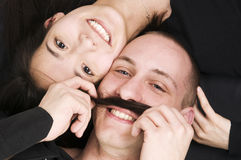The moustache Stock Images