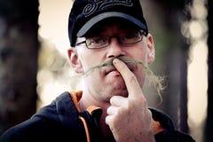 moustache stock fotografie