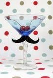 Moustache on beer stein Stock Photos