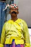 Moustache Brother (Lu Zaw), Performs Comedy Show, Burma Stock Photos