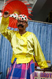 Moustache Brother (Lu Zaw), Performs Comedy Show, Burma Stock Photography