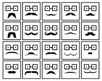 Moustache Royalty Free Stock Image