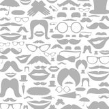 Moustaches a background Royalty Free Stock Photos
