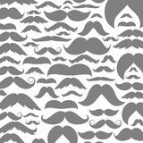 Moustaches a background Royalty Free Stock Photo