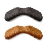 Moustaches fausses Images libres de droits