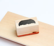 Moustaches rubber stamp. Movember men`s health awareness concept. Stock Images