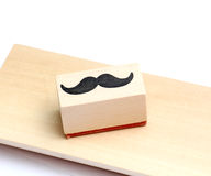 Moustaches rubber stamp. Movember men`s health awareness concept. Royalty Free Stock Photography