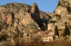 Moustier święty Maria, Provence zdjęcie stock