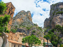 Moustier-Sainte-Marie, Gorges of Verdon, Provence, France Royalty Free Stock Photography