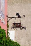Moustiers Sainte玛里 免版税库存图片