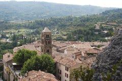 Moustiers-Sainte-Marie,普罗旺斯 免版税库存照片