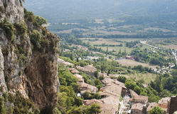 Moustiers-Sainte-Marie,普罗旺斯 免版税库存图片