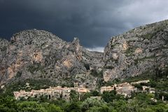 Moustiers-Sainte-Marie Stock Photos