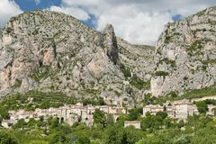 Moustiers Sainte Marie Royalty Free Stock Image