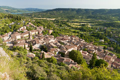 Moustiers Sainte Marie Stock Photo