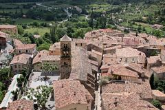 Moustiers-Sainte-Marie Royalty Free Stock Image