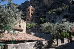 Moustiers-Sainte-Marie Royalty Free Stock Photos