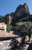 Moustiers-Sainte-Marie Stock Images