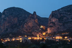 Moustiers-Sainte-Marie obrazy royalty free