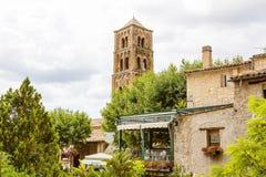 Moustiers-Sainte-Marie em França do sul, Provence fotos de stock royalty free