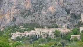 Moustiers Sainte Marie en Provence imagen de archivo
