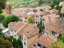 Moustiers-Sainte-Marie, France, Provence Royalty Free Stock Photography