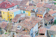 Moustiers-Sainte-Marie, France, Provence. Royalty Free Stock Photography