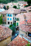 Moustiers-Sainte-Marie, France, Provence. Stock Images
