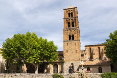 Moustiers-Sainte-Marie (Frankreich) lizenzfreie stockbilder