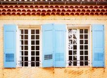 Moustiers-Sainte-Marie, Frankreich, Provence Lizenzfreie Stockbilder