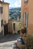 Moustiers-Sainte-Marie franska Provence royaltyfri foto