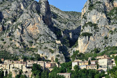 Moustiers Sainte Marie Royalty Free Stock Photos