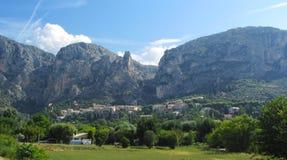 Moustiers-Sainte-Marie, Provence Stock Image