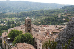Moustiers-Sainte-Marie, Provence Royalty Free Stock Photos