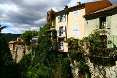 Moustiers Sainte Marie in Provence Stock Photos