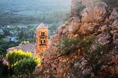 Moustiers-Sainte-Marie, Provence, France Image stock