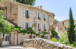 Moustiers-Sainte-Marie in Provence, France Royalty Free Stock Images