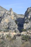 Moustiers-Sainte-Marie, Provence - France Stock Images