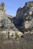 Moustiers-Sainte-Marie, Provence - France Stock Photos