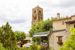 Moustiers-Sainte-Marie in southern France, Provence. Royalty Free Stock Photos