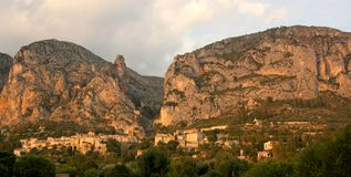 Moustiers Ste Marie Stock Photography