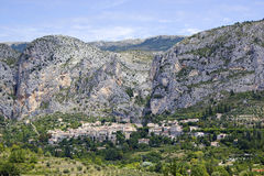Moustiers-Ste-Marie Royalty Free Stock Images