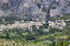 Moustiers-Ste-Marie Royalty Free Stock Photo
