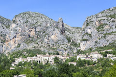 Moustiers Ste Marie. Provence region of France, Europe Royalty Free Stock Photos