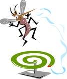 moustique de tueur Images libres de droits