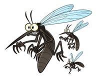 moustiques illustration de vecteur