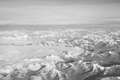 χιόνι moutain Στοκ εικόνες με δικαίωμα ελεύθερης χρήσης