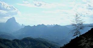 Moutain. Beautiful moutain view at Phukun Luang prabang royalty free stock image